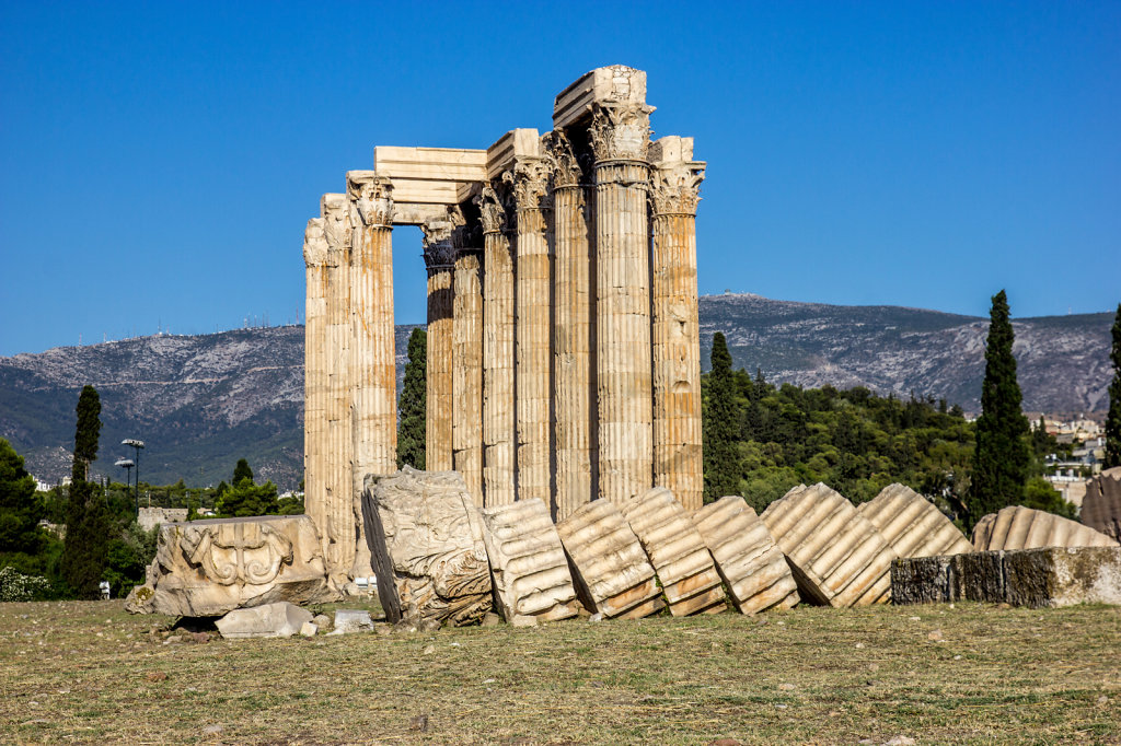 Temple of Zeus in Athens