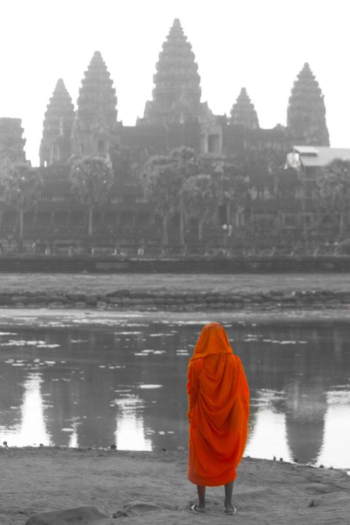 The Monk Tourist