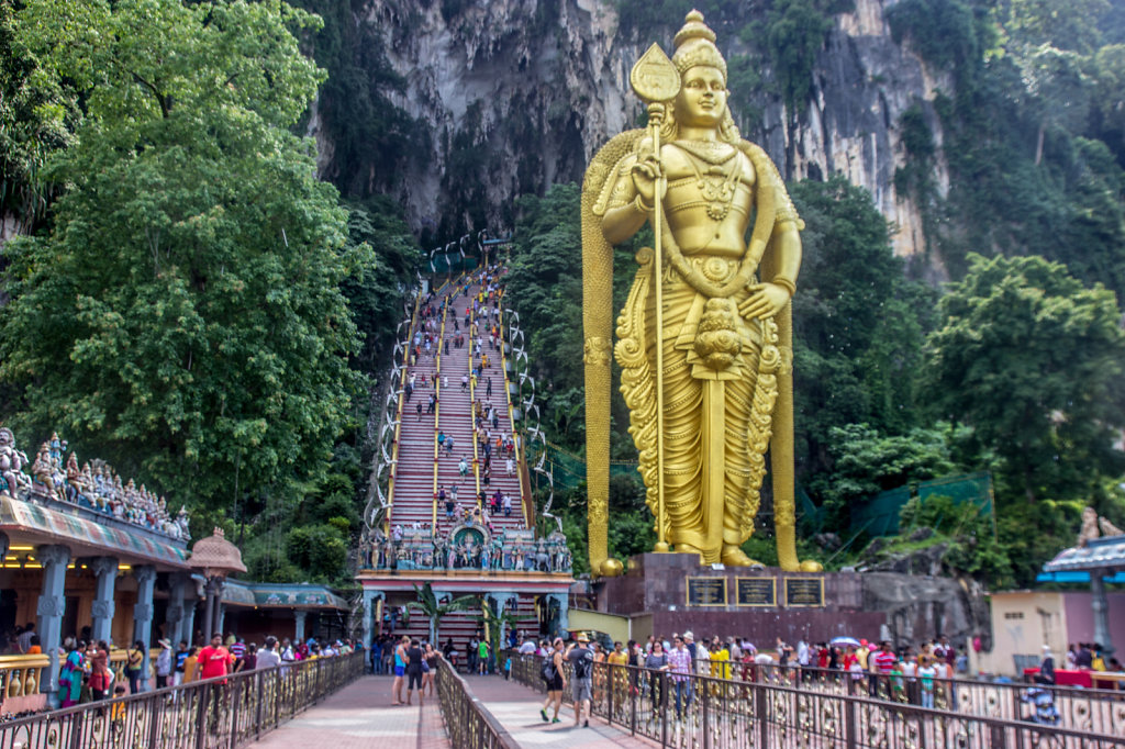 Batu Cave near Kuala Lumpur